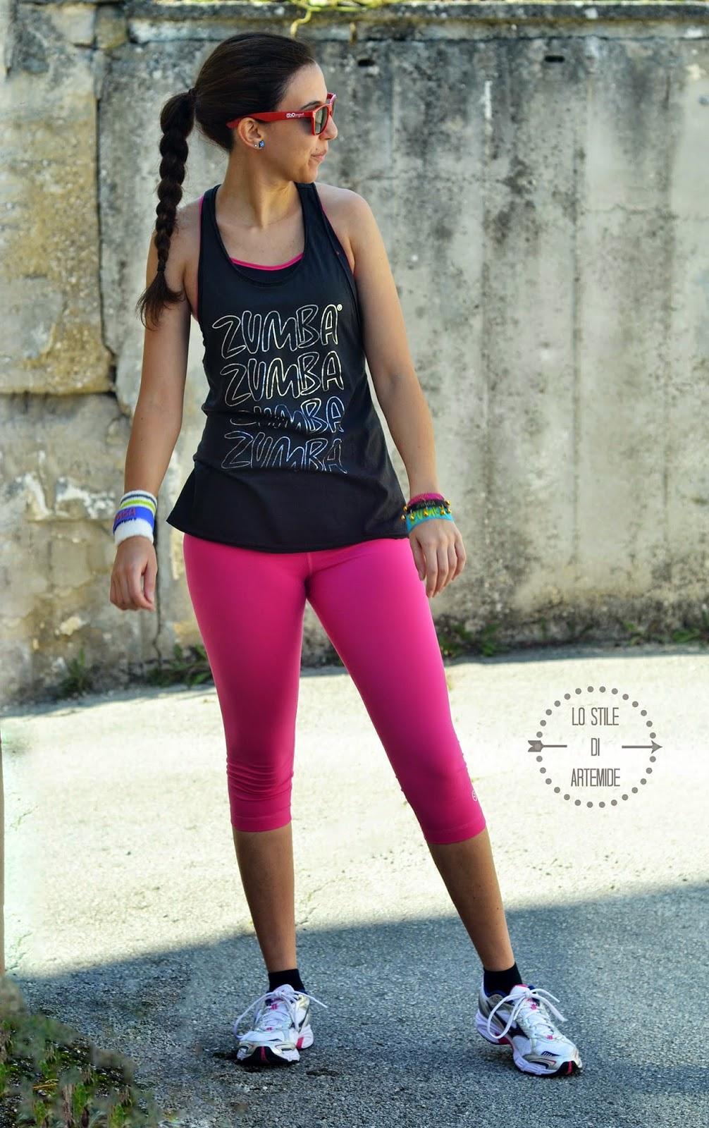 abbigliamento zumba fitness
