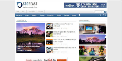 7 Template Blog Berita Simpel Fast Seo Responsive Mobile Friendly