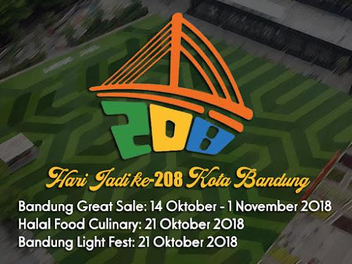 Event Hari Jadi Kota Bandung ke-208