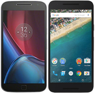 Motorola Moto G4 Plus vs LG Nexus 5X