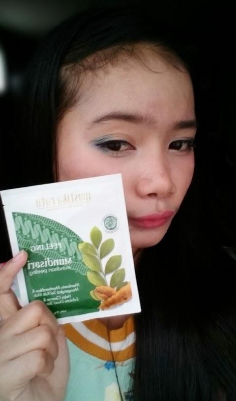 Review Mustika Ratu Mundisari Peeling (Sachet)
