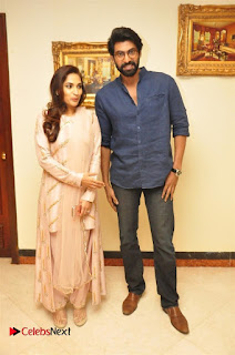 Aiswarya Rajinikanth Dhanush Standing on an Apple Box Launch Stills in Hyderabad  0004.jpg