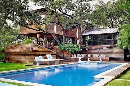 Asian Influences in Austin, Texas: The Lovely Tarrytown Residence