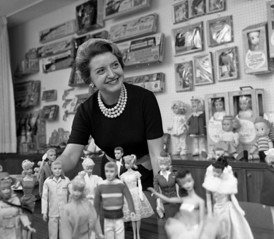 Ruth Handler in 1961