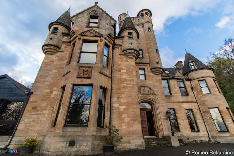 Broomhall Castle Scottish Highlands Road Trip Itinerary