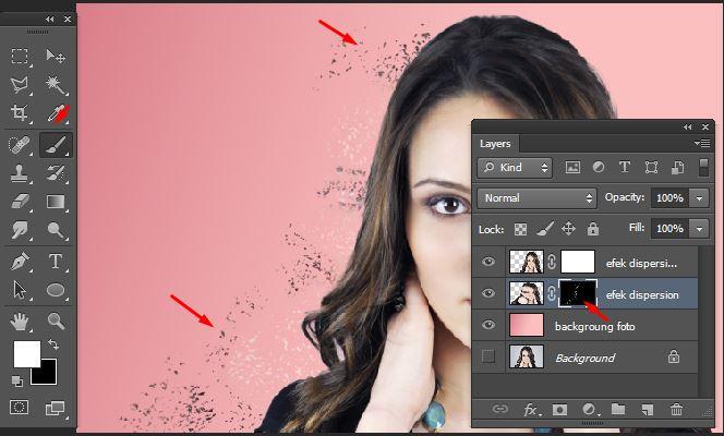 Tutorial Membuat Efek Dispersion Dengan Photoshop - GRAFIS
