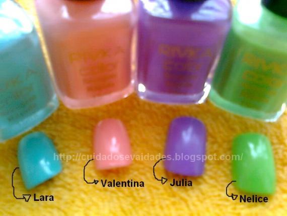 Rivka Color: Lara, Valentina, Julia, Nelice