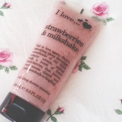 I Love... Strawberries & Milkshake body wash
