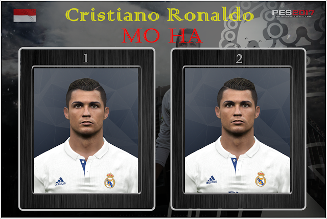 PES 2017 Cristiano Ronaldo Face by Mo Ha