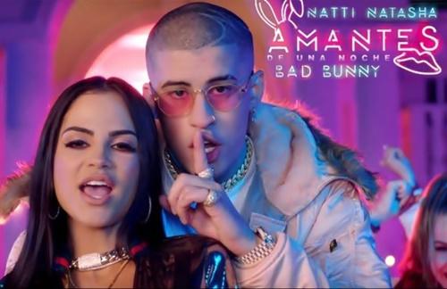 Natti Natasha & Bad Bunny - Amantes De Una Noche