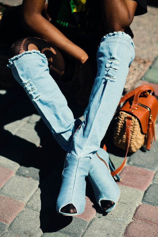 Denim Boot