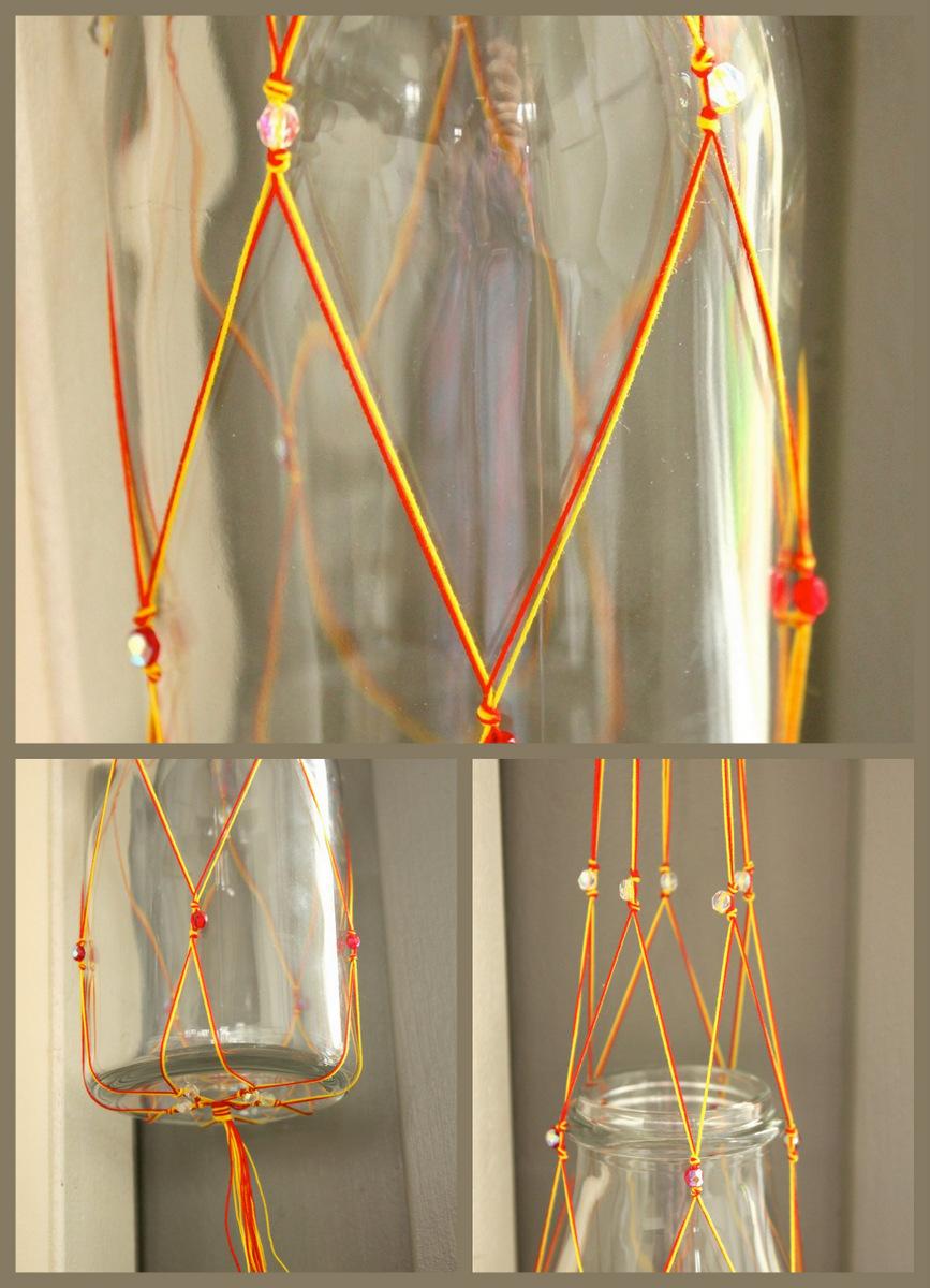 Hilde haakt: Hanging basket knopen in textielmuseum