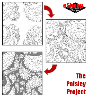 The Paisley Project by eSheep Designs