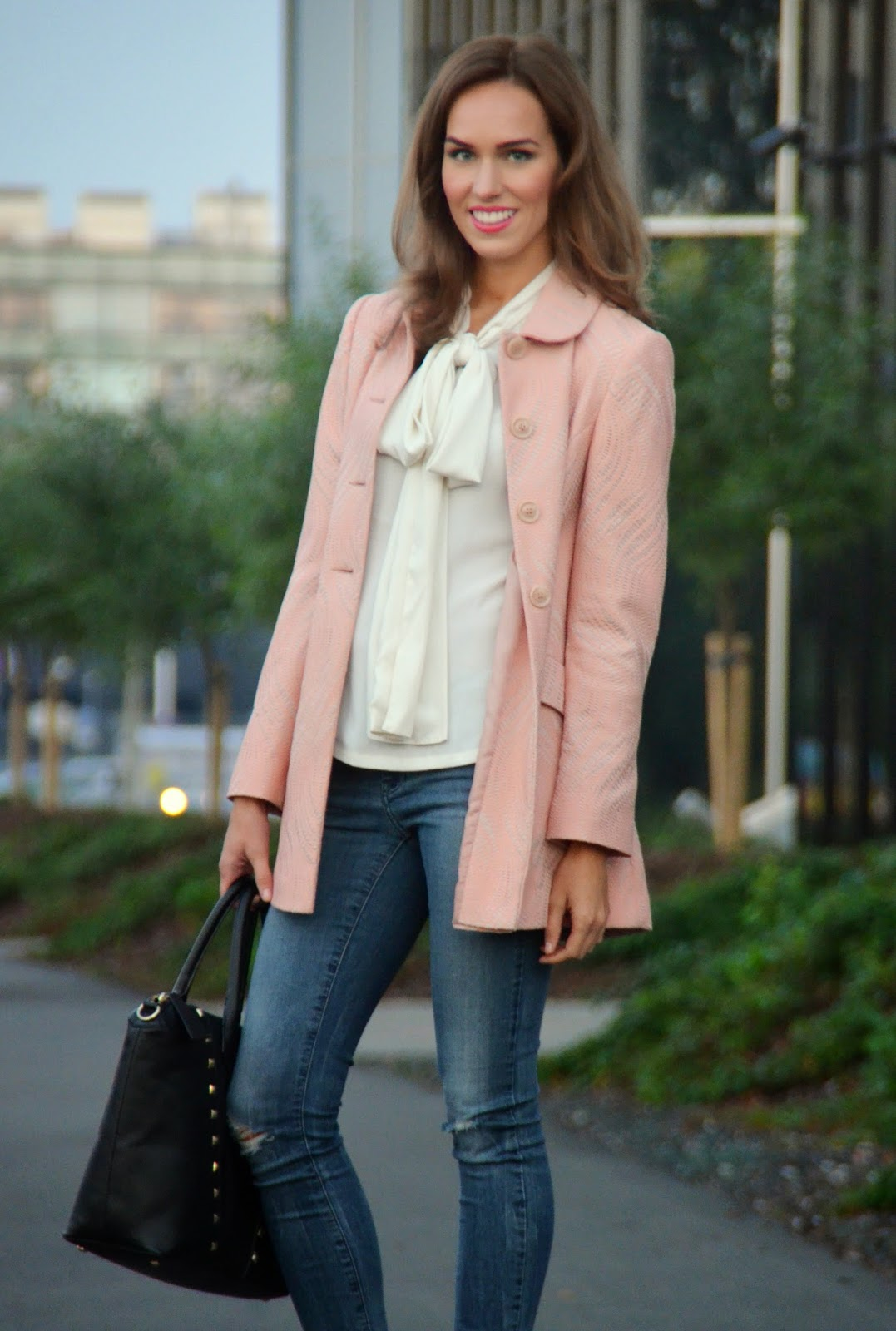 pink-primark-coat-asos-bow-blouse