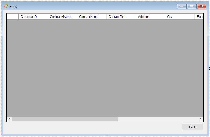 print datagridview in c#