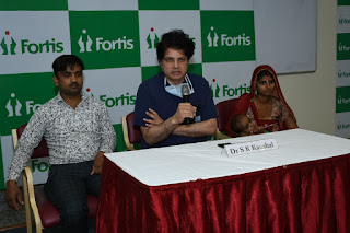 First Pulmonary Root Transfer Surgery in Rajasthan Fortis