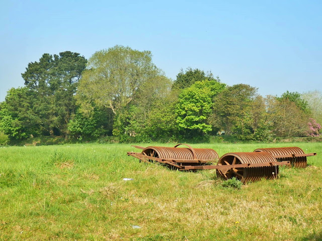 Old farming implements, Cornwall