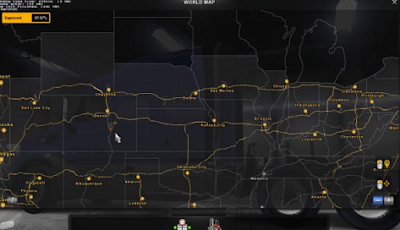 American Truck Simulator Coast to Coast v 1.7 Map Download MODs