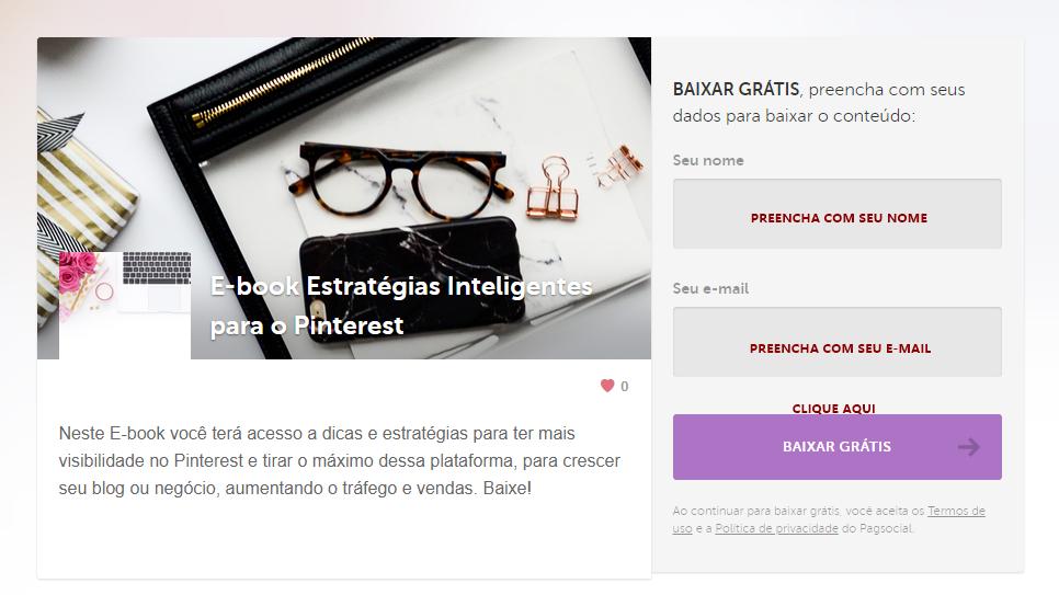 E-book Grátis: Estratégias para ter mais visibilidade no Pinterest
