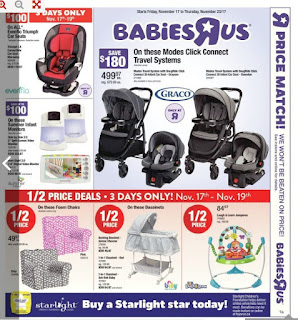 Babies flyer this week November 17 - 23, 2017