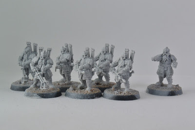 Iron Hills Dwarves with Crossbows (WIP)