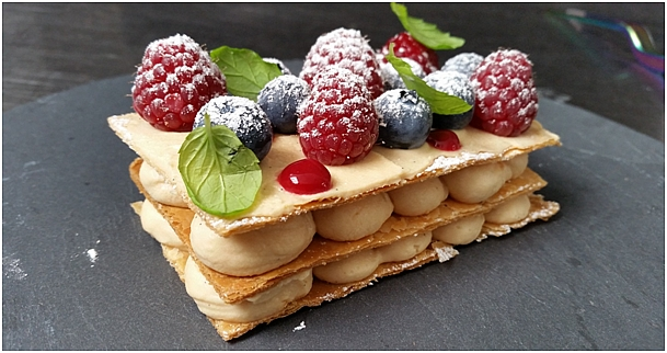apetyczny deser