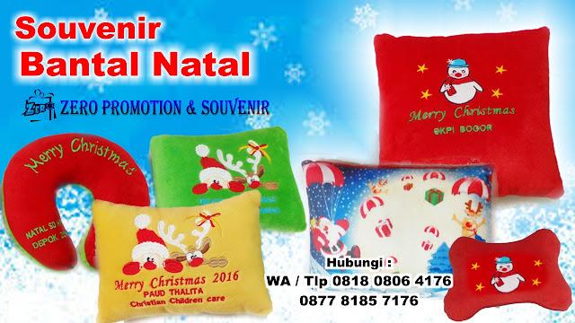 Bantal Natal – Christmas Souvenir
