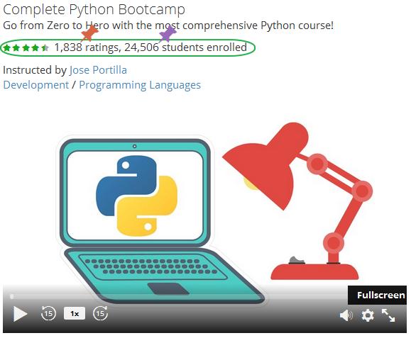 python course online