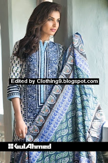 Gul-Ahmed Midsummer Cambric Dresses 2015