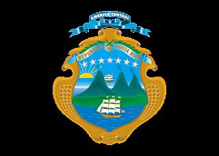 Escudo Costa Rica Logo Vector