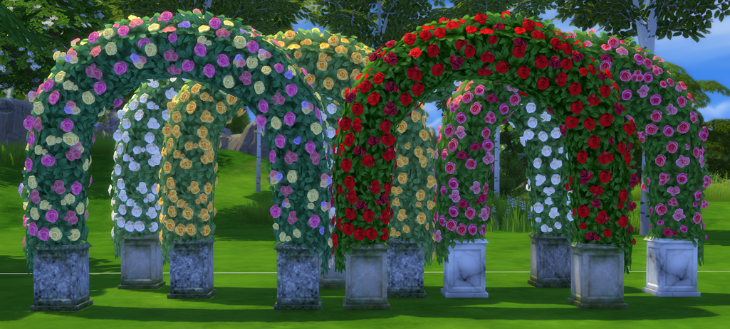 My Sims 4 Blog Wedding Arches Wine Bottles Beds And