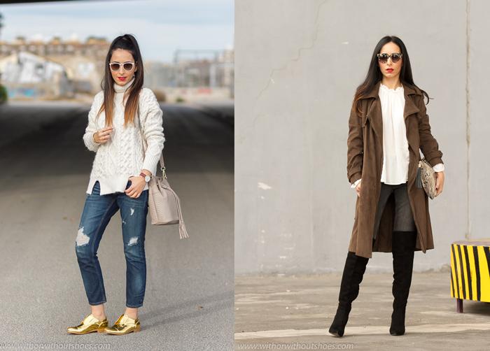 Resumen de los mejores looks del mes de marzo de la blogger de moda de Valencia withorwithoutshoes