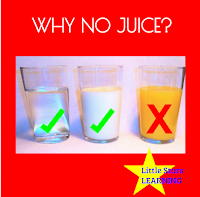 Why no juice for young children