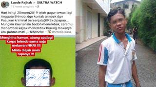 Heboh! Pemilik Akun Remaja Penghina Brimop Yang Gugur Di Papua Sudah Diburu