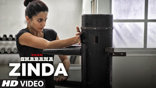 Zinda – NEW Exclusive HD Video Song from movie Naam Shabana