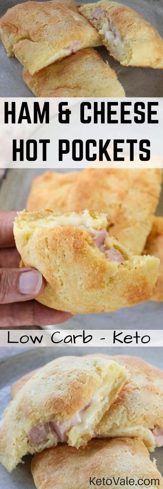 KETO,Ham and Cheese Hot Pockets