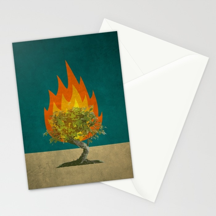 Burning Bush Cards | Land of Honey