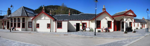 Ballater station, Deeside