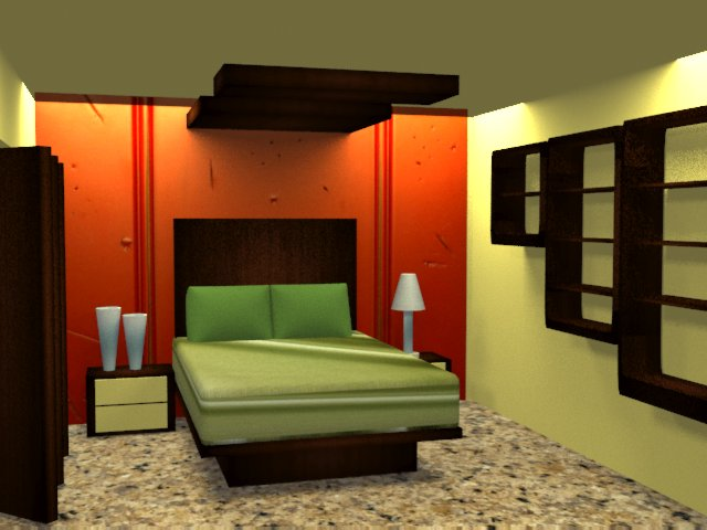 3ds Max Vray - Bedroom 1.2
