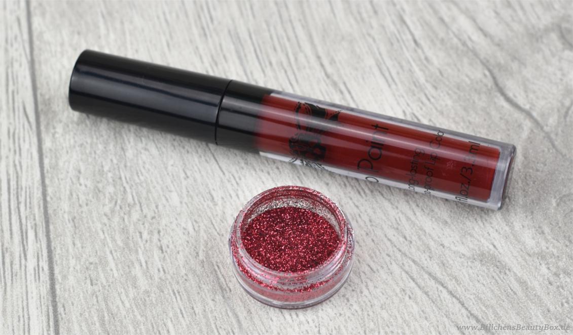 Tattoo Junkee - Liquid Lipsticks Sparkle - Rebel