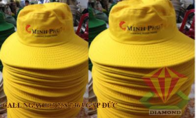 Nhận may nón tai bèo theo yêu cầu cho công ty phân bón, công ty du lịch trong nước