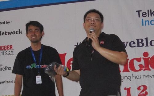 Manji lala and Mas Benny, Representatif Mozilla Indonesia