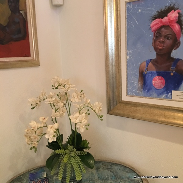 Caribbean art at Champers Wine Bar & Restaurant in Christ Church, Barbados