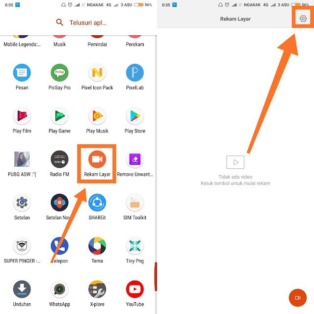 Cara Rekam Layar Di Semua HP Xiaomi Dengan Mudah