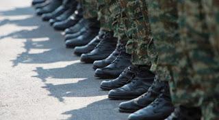 Σεβασμός και μόνο για τους στρατιωτικούς
