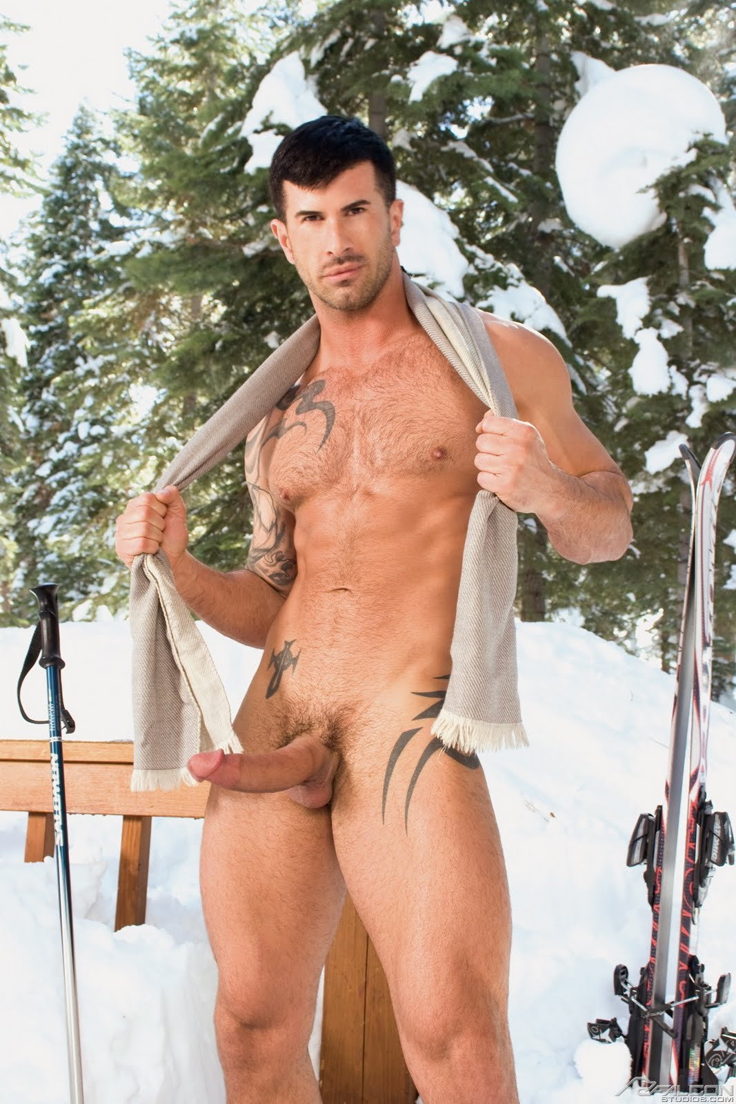 Gay Men Snow Vid