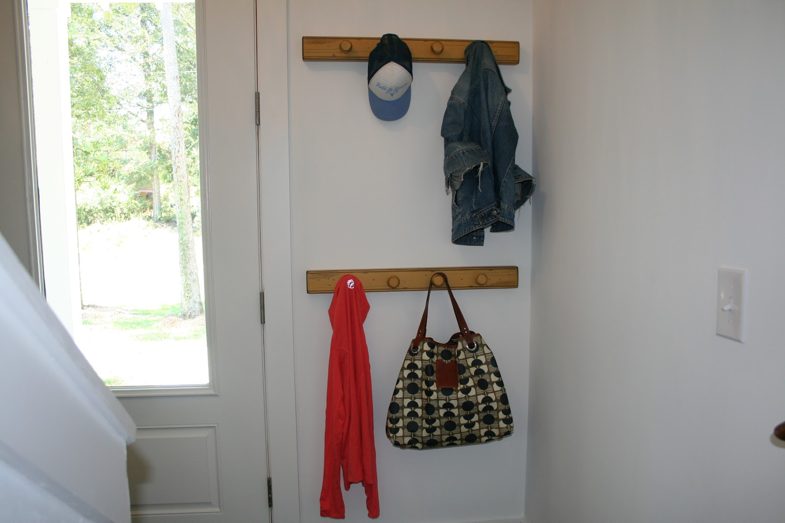 The Lowcountry Lady Simple Entryway Coat Hooks