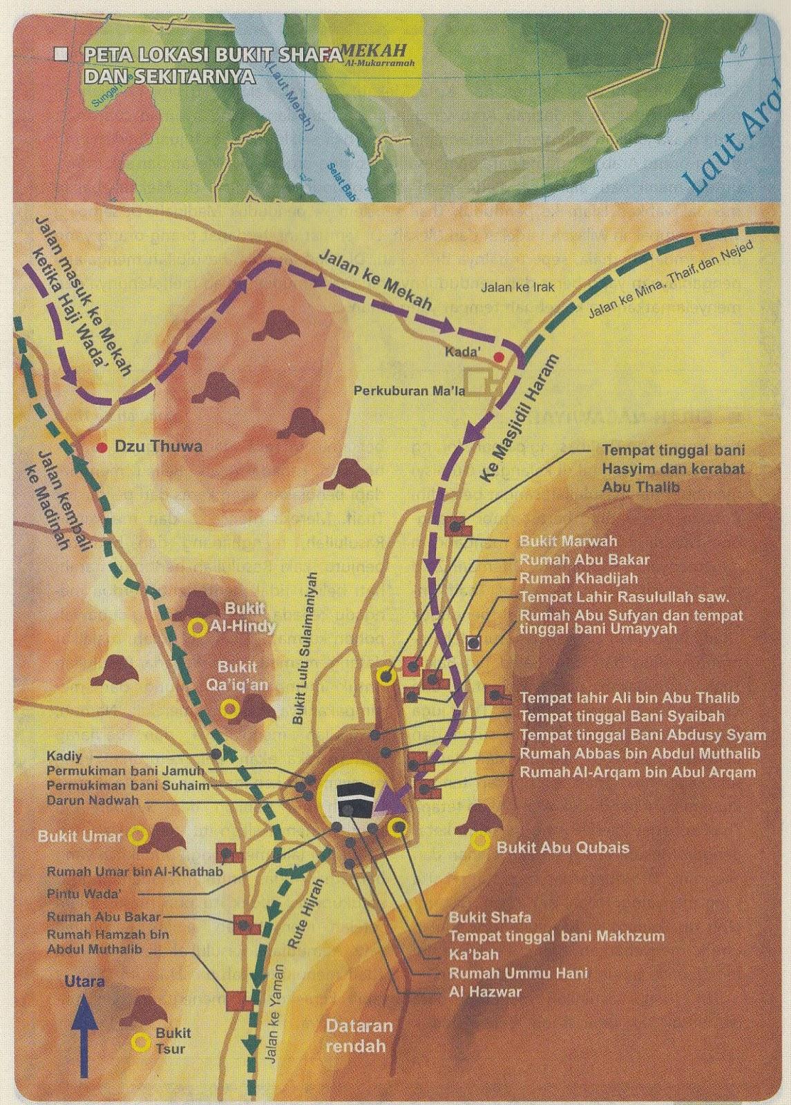 Bukit Safa Marwa : bukit, marwa, Nurul, Bukit, Shafa, Sekitarnya