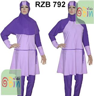 baju renang syari RZB 792