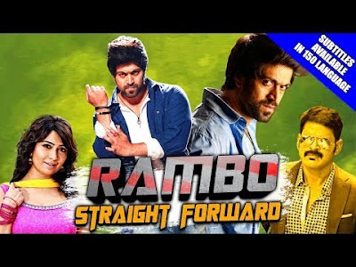 Rambo Straight Forward (2018) Hindi Dubbed 480p HDRip x264 E-Subs 400MB